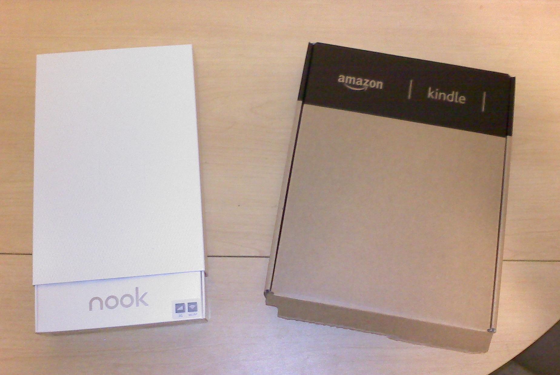 Nook E Reader Vs Kindle: E-Readers: Kindle Vs Nook, Let The Battle Begin